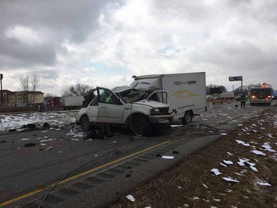 A crash on Interstate 74 in Montgomery County killed two people on Feb. 18, Indiana State Police said.