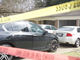 In this February 18, 2019, three cars in the driveway of a Clinton home, where four were found dead after a 12-hour standoff with law enforcement on Saturday, Feb. 16, 2019.  A suspect, Nam Quang Le, 34, was shot and later died at a hospital.
