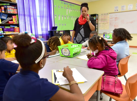 Aging buildings and crowded classrooms are a challenge in many school districts, where teachers frequently spend their own money on classroom supplies.