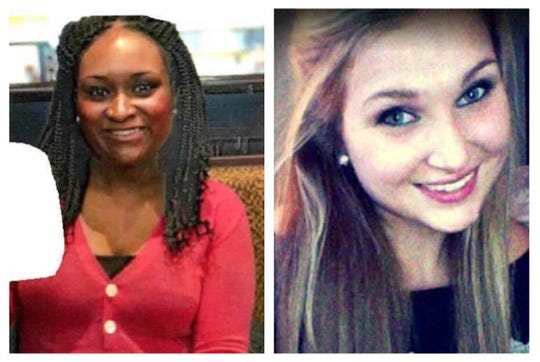Police are searching for Shelby Hubbard, 24, left, and Sarah Michelle Phillips, 22, right. Hubbard went missing in Dyersburg on Feb. 15, while Phillips was last seen in Milan on Jan. 9.