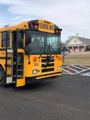The school bus that will drive Hardin County High School cheerleaders to a tournament in Memphis on Monday bears a black bow in remembrance of longtime employee Jeanna Ford, who died suddenly Saturday night. Ford always drove the team to tournaments, cheer camps and competitions, parent Sherry Isbell said.