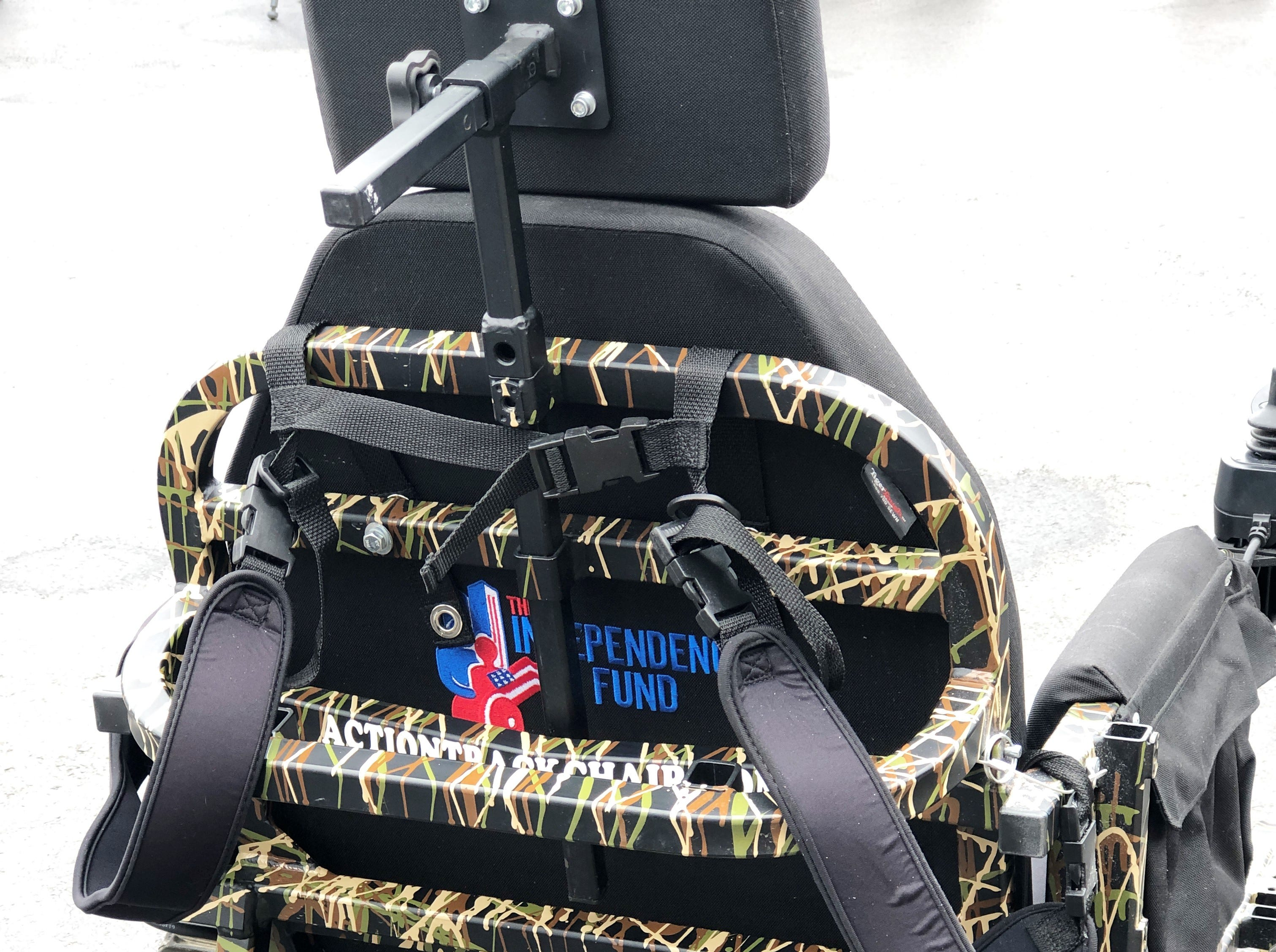 "Sam Johnson, from the Independence Fund said at the presentation that they have given away 358 all-terrain wheelchairs throughout the year. ""We want to empower our severely wounded Veterans and their caregivers,"" said Johnson. ""We are dedicated to improving the lives of both our Veterans and their families through our Mobility, Adaptive Sports, Caregiver, Family and Advocacy Programs. It also assists in combatting veteran suicide."""