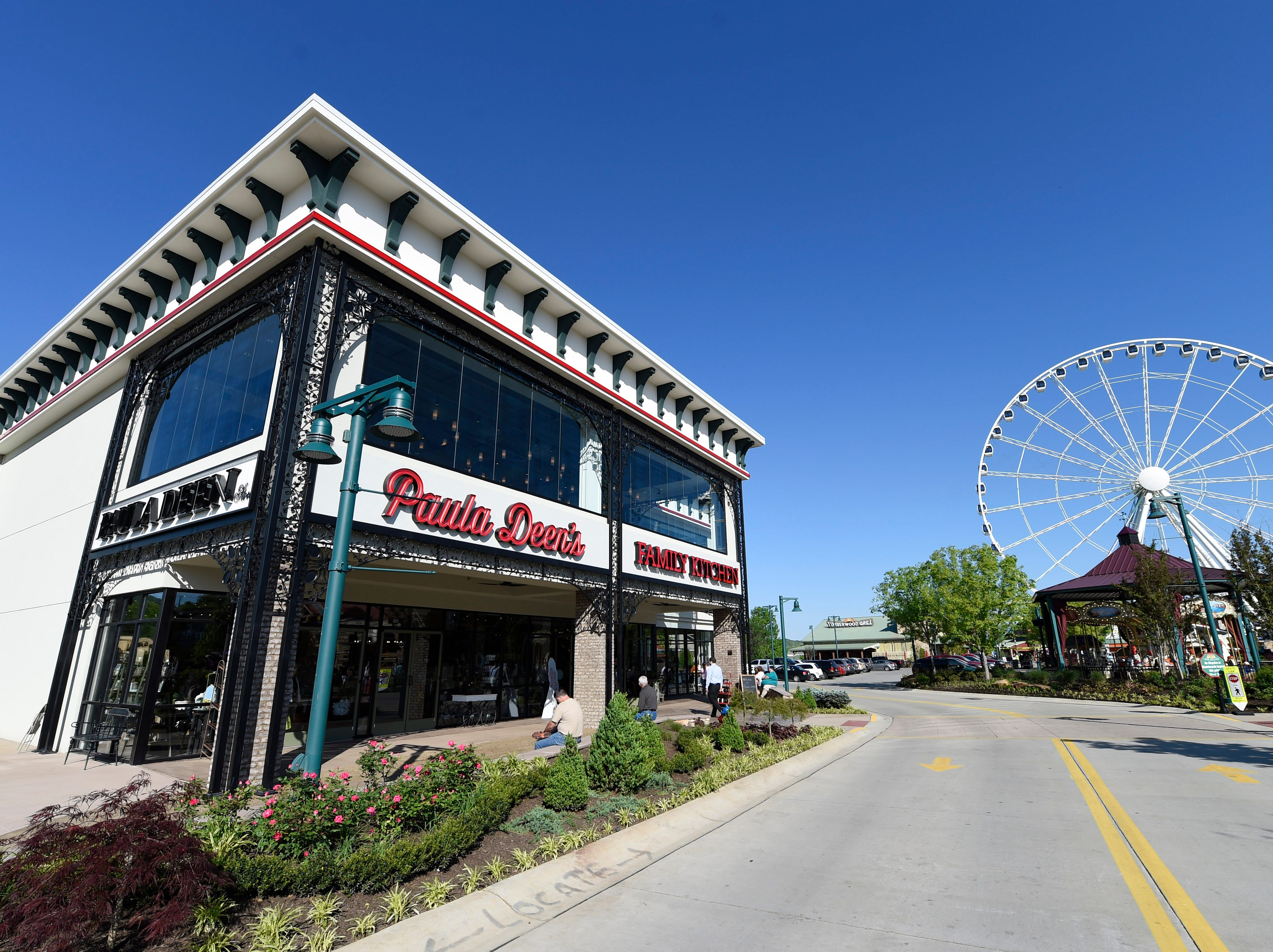 The new Paula Dean's Family Kitchen restaurant in Pigeon Forge on Monday, April 27, 2015.