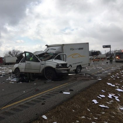 Two dead in I-74 crash