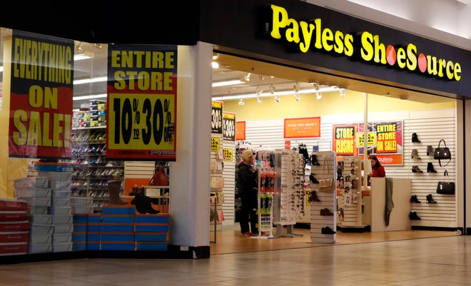 Payless ShoeSource announced that all it's stores will close this year. The River Valley Mall location of the shoe retailer is the only Payless location left in Lancaster.