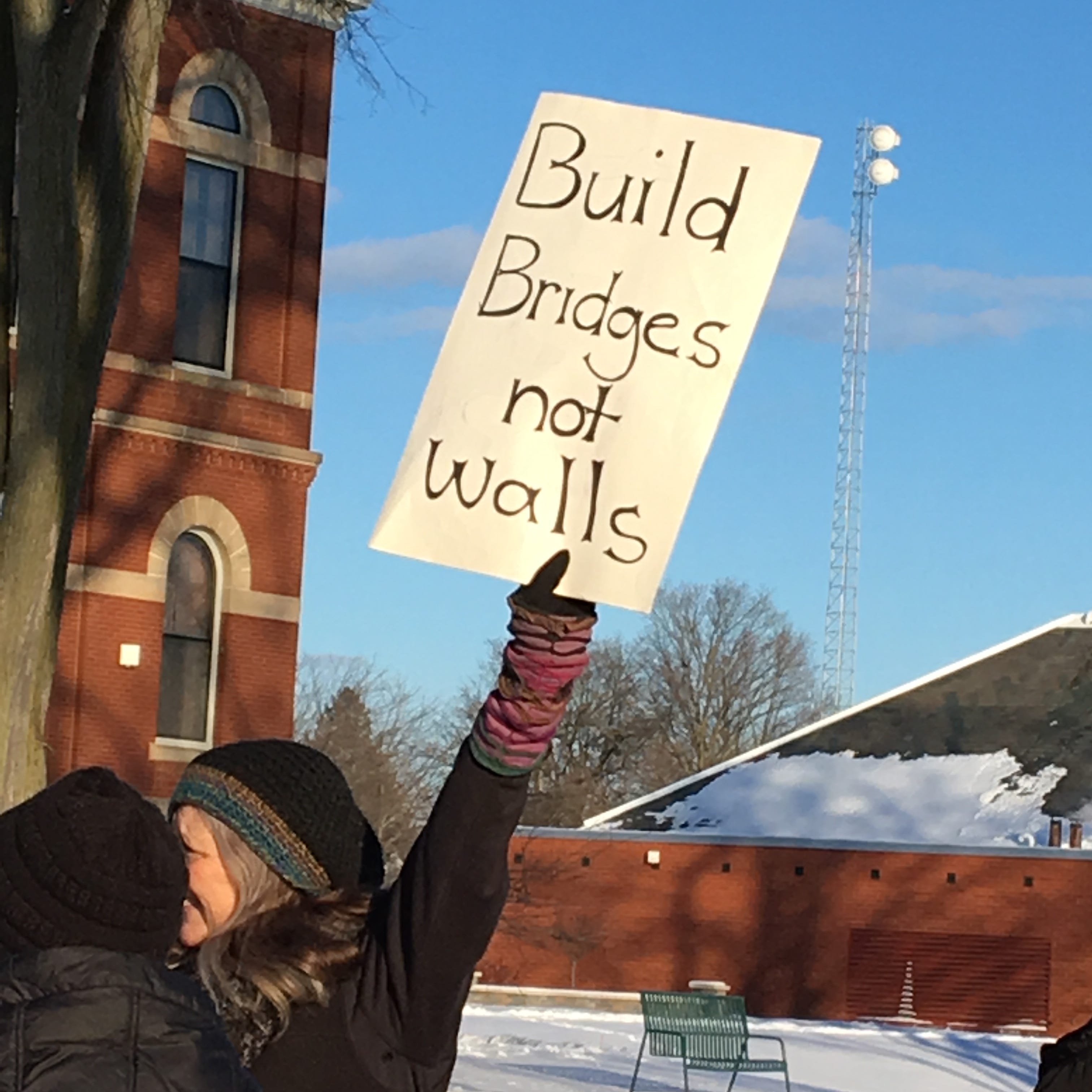 National emergency declaration draws protest, support in Howell
