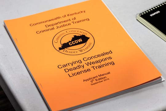 The manual supplied to those seeking the license to carry a concealed deadly weapon in Kentucky provides information ranging from general safety to the complexities of the law in the use of deadly force. 2/16/19
