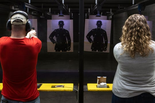 Being able to hit a target from 21 feet is part of the current state requirement when seeking the ability to conceal and carry a deadly weapon in Kentucky. 2/16/19