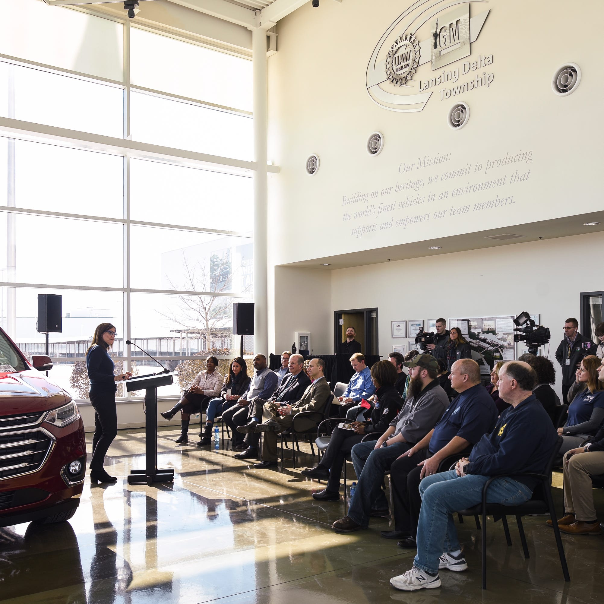 GM to invest $36M at Lansing Delta Township Assembly plant