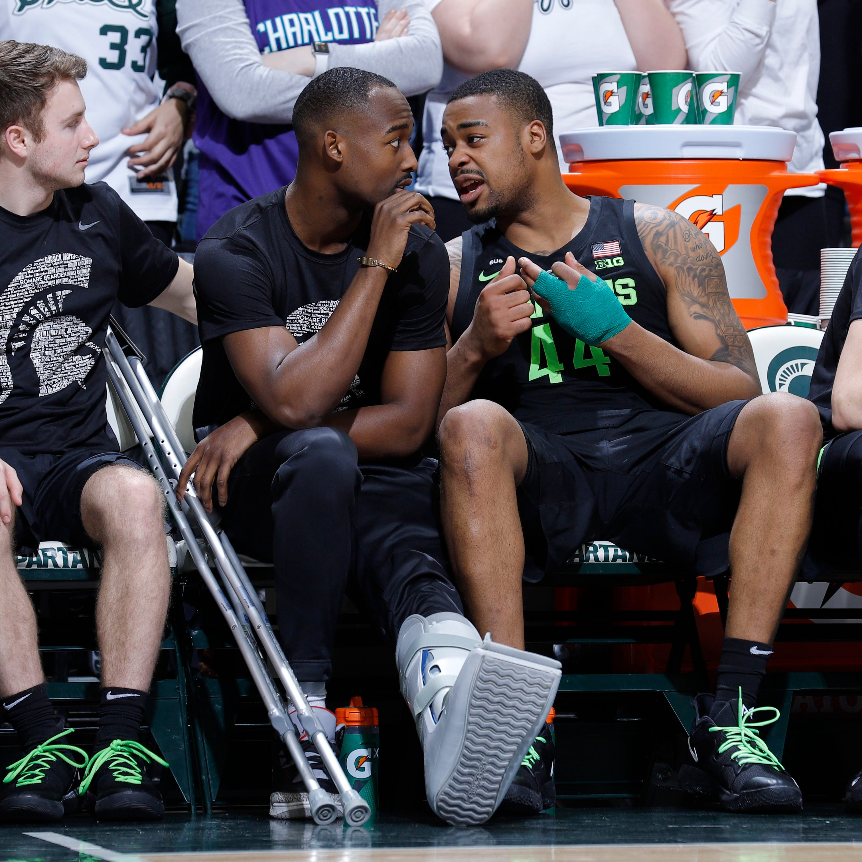 Couch: Nick Ward's injury leaves a gaping hole in the Spartans – bigger than many realize