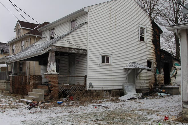 Fire investigators believe this house at 680 Silver St. was intentionally set on fire Friday evening, said Marion City Fire Platoon Chief Paul Glosser.