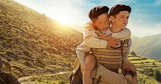 "A harrowing tale of two boys escaping Nazi-occupied France, ""A Bag of Marbles"" screens Wednesday at the Ridgeway."