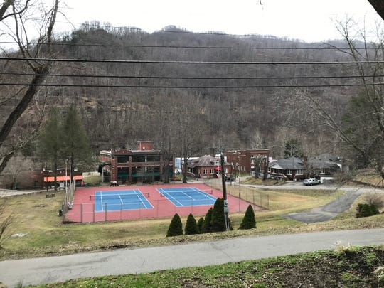 Bernie Bickerstaff's hometown of Benham, Kentucky as seen from outside the Benham Schoolhouse Inn on Feb. 15, 2019. Bickerstaff was raised in a coal mining family but went on to become an NBA coach and executive. His son, J.B. Bickerstaff, is coach of the Memphis Grizzlies.