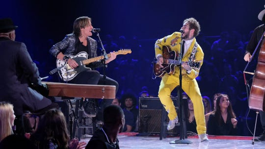 "Keith Urban and Post Malone covered a Jimmy Reed blues classic that Elvis also recorded for the ""All-Star Elvis Tribute."""
