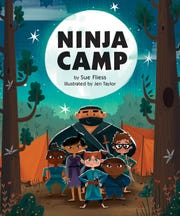 """Ninja Camp"" by Sue Fliess, illustrated by Jen Taylor."