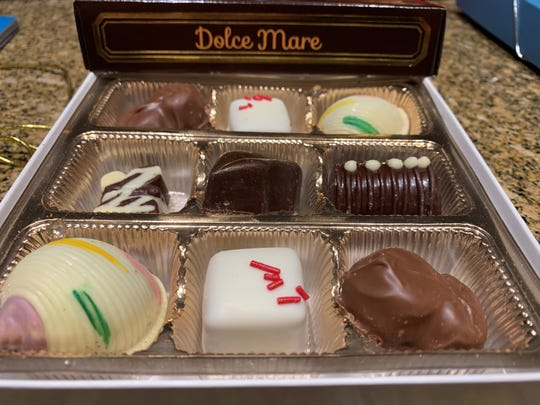 A 12-piece sampler pack from Dolce Mare, Marco Island.