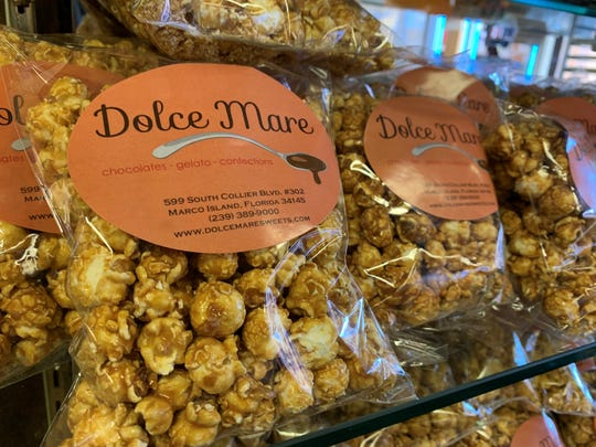 Dolce Mare, Marco Island, has a wide assortment of treats.