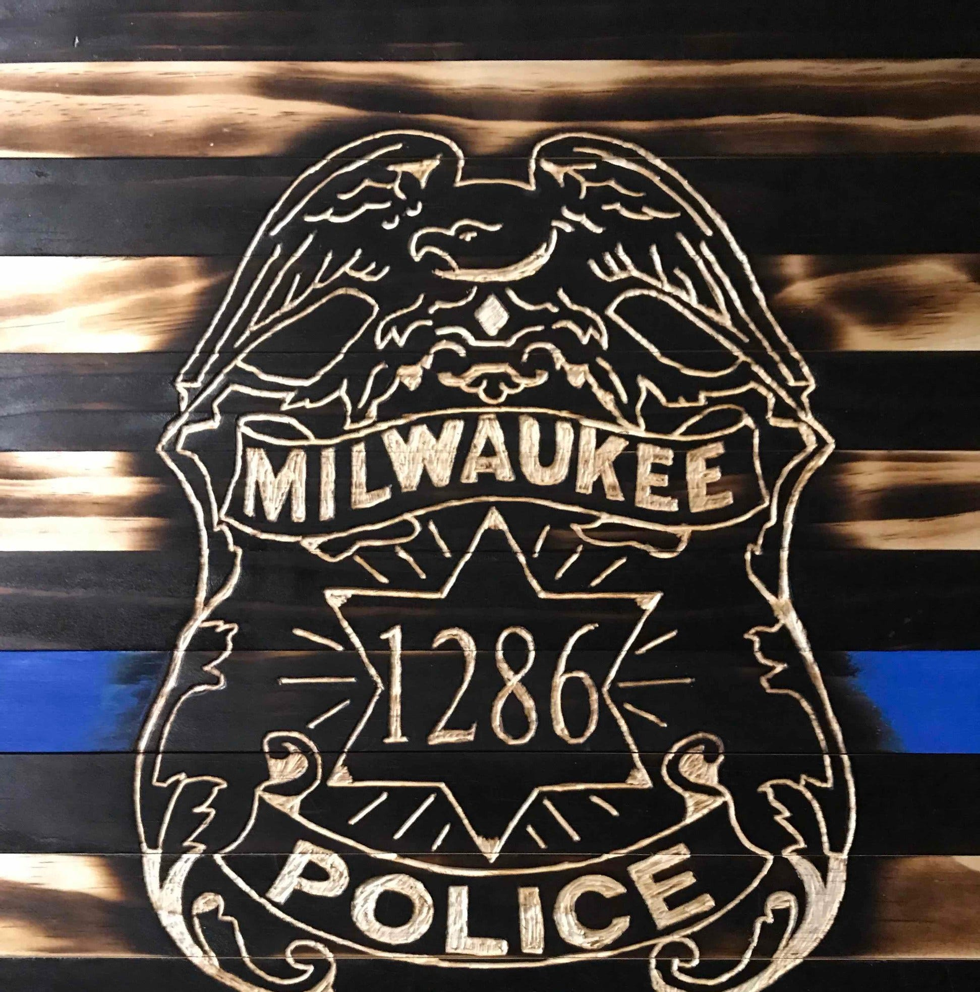 'Matt took a round for me.' Now a Milwaukee cop is doing what he can to help fallen officer Rittner's family.