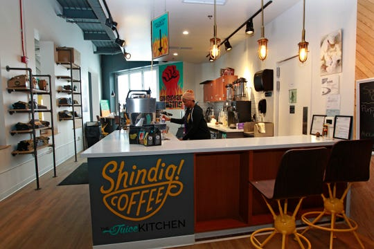 Shindig Coffee, on Tuesday, Feb. 12, 2019 at Sherman Phoenix at 3536 W. Fond du Lac Ave., in Milwaukee.