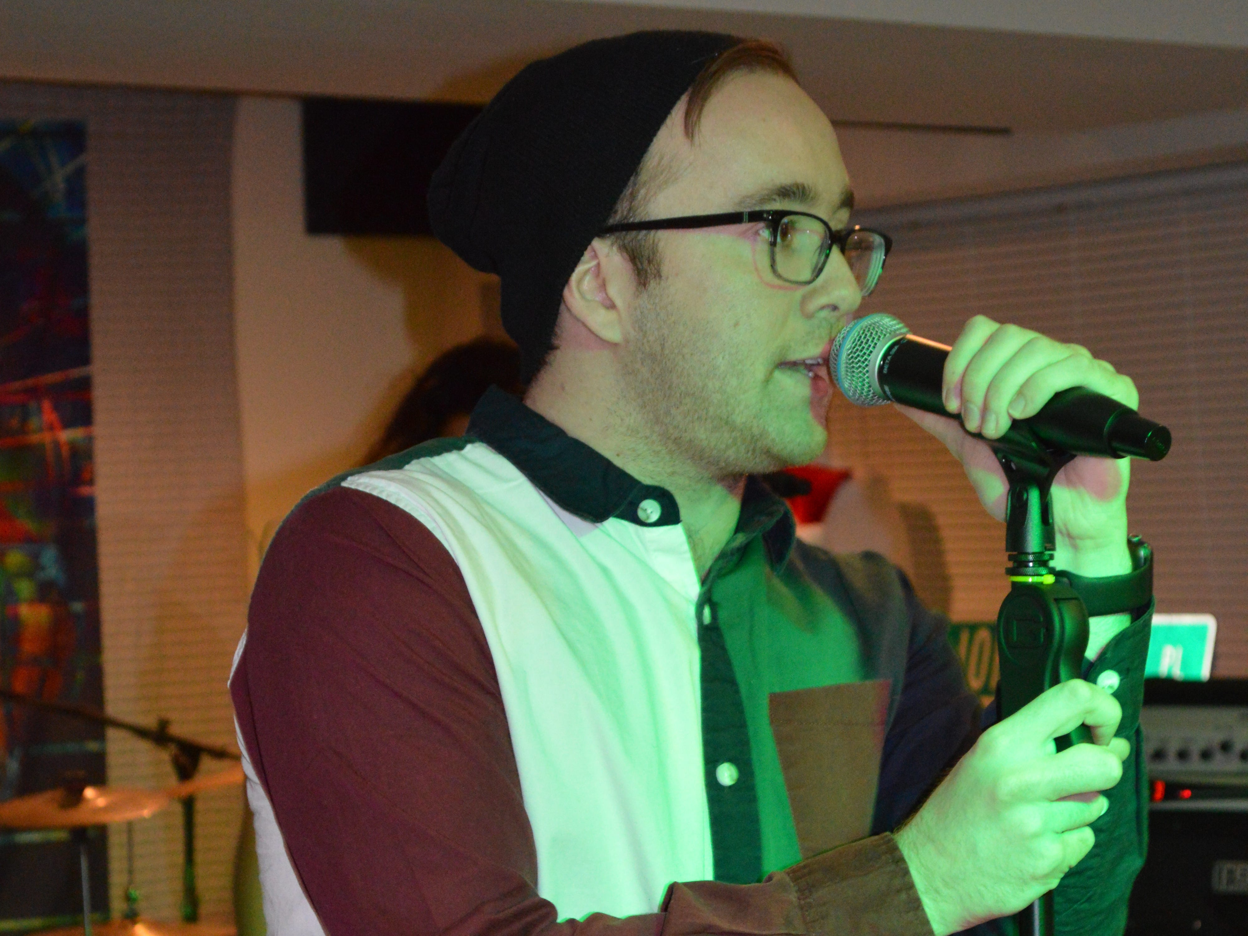 Smart Mouth vocalist Austin Riche, 22, said Kids From Wisconsin really developed him as a singer, performer and dancer.