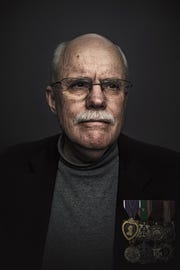 Tom Sharp, 71, of Green Bay spent four years in the Navy serving as a fire control technician in both the blue water and brown water navies. He served on a destroyer stationed offshore from Vietnam from 1966-'67 and on a patrol boat that traveled on rivers in Vietnam in 1968.