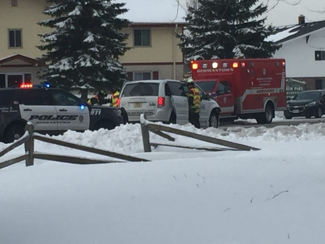 A 71-year-old man driving a Washington County transit van rear ended a school bus on its way to MacArthur Elementary School, carrying almost 30 students, early morning on Feb. 14.