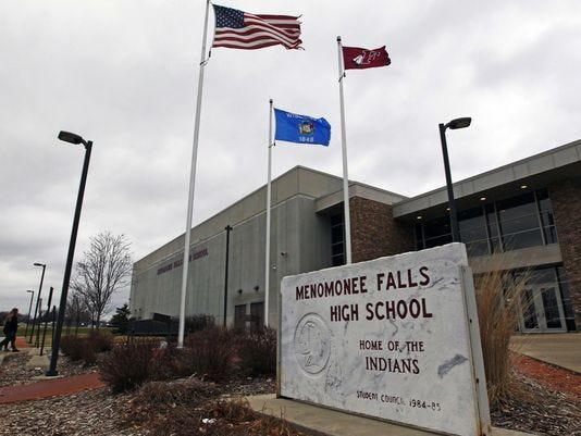 The Menomonee Falls School District is considering a land swap with the village of Menomonee Falls for a possible future school site.