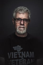 Bob Stillman, 67, of Green Bay, served in the Army's 25th Infantry Division in Vietnam from June 1969-June 1970.