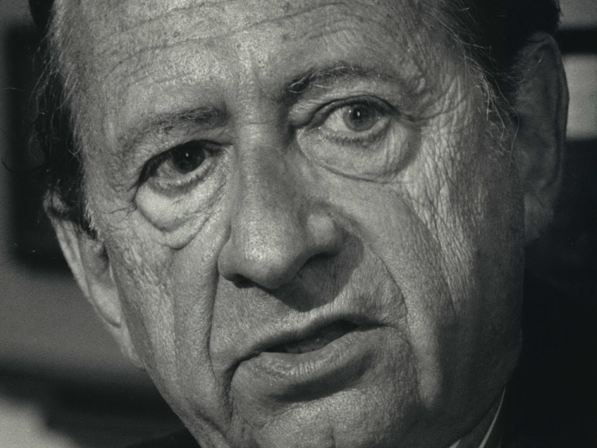 "Robert Bloch, a master of fantasy and horror, wrote the novel ""Psycho"" which became the classic Alfred Hitchcock film."
