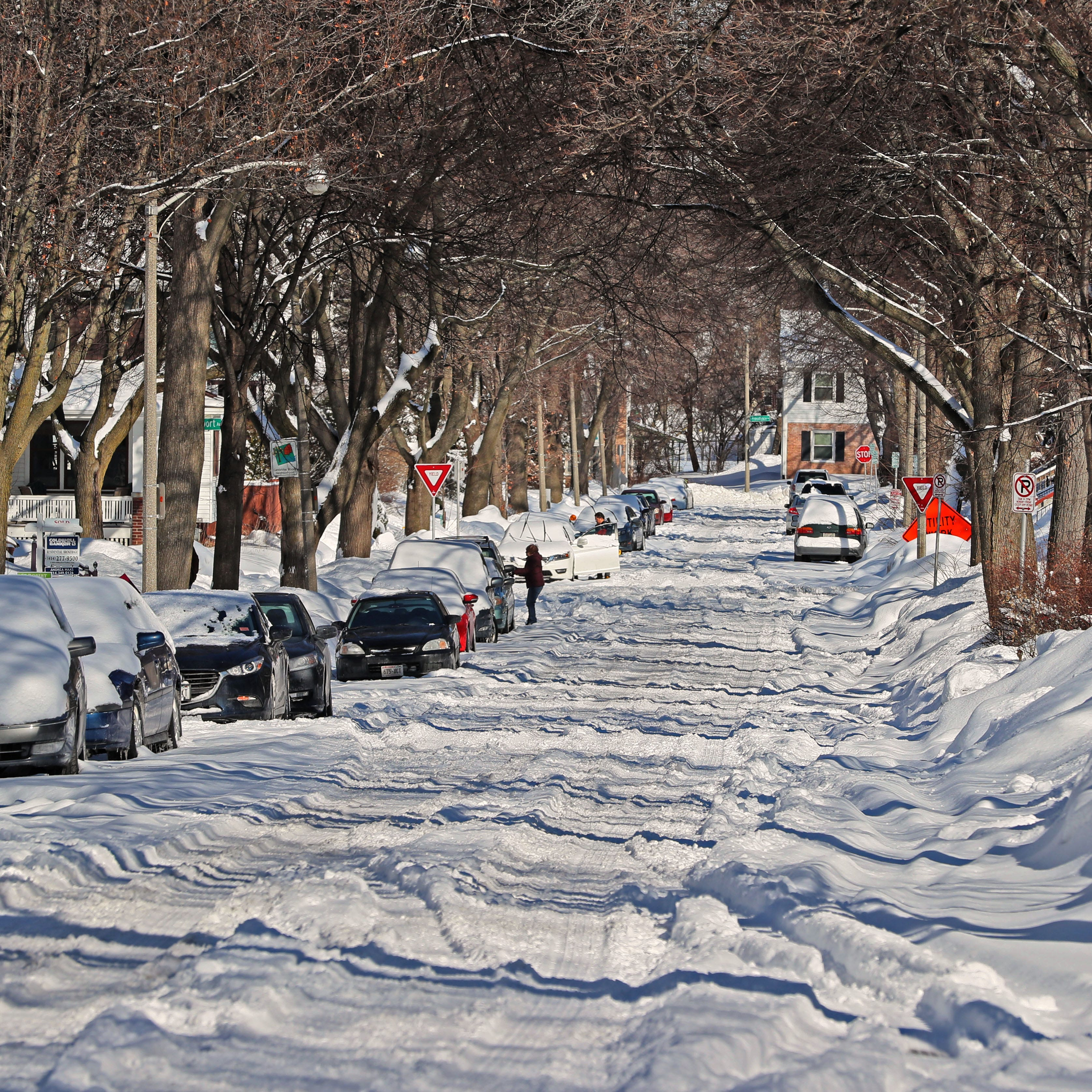 Yep, it's been a crazy winter, and it's likely to stay cold and snowy for a while