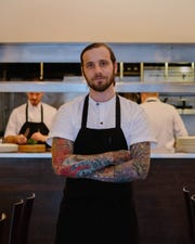 Ryan Pfeiffer, chef de cuisine of the Michelin-starred Blackbird restaurant in Chicago, will be the first guest chef in the EsterEv dinner series, on March 13.