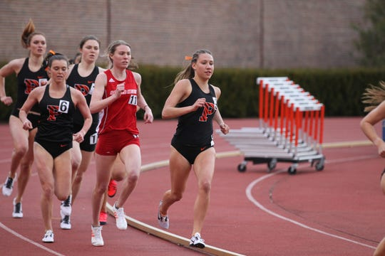 Princeton junior Sierra Castaneda, a West Morris alumna, competes at the Sam Howell Invitational.