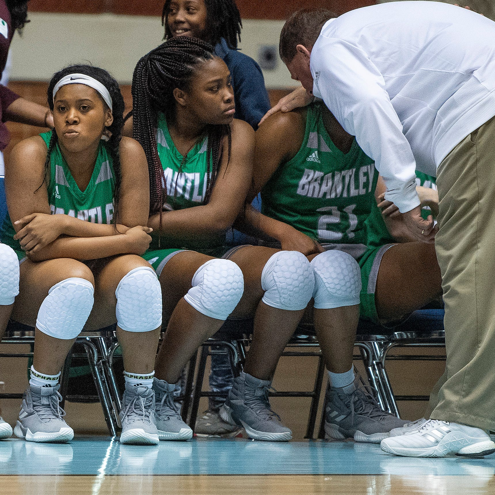 Brantley coach's tears flow over end of season
