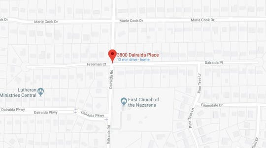 A woman sustained severe burns during a domestic dispute in the 3800 block of Dalraida Place.