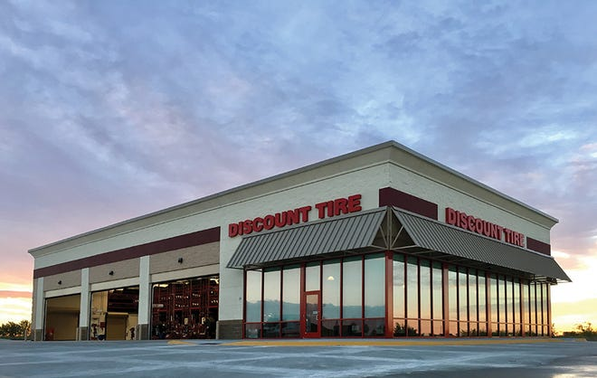 Discount Tire has locations in 35 states.