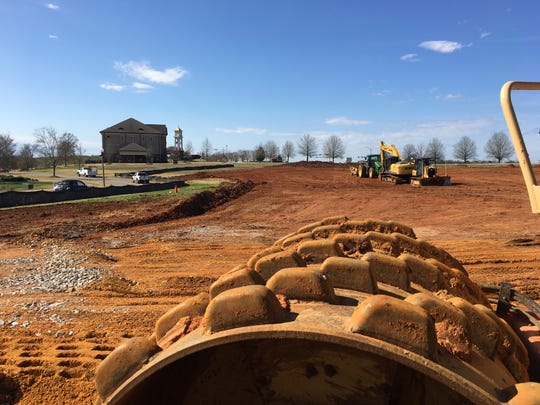 Work has started on a Hilton Tru location on Legends Parkway in Prattville.
