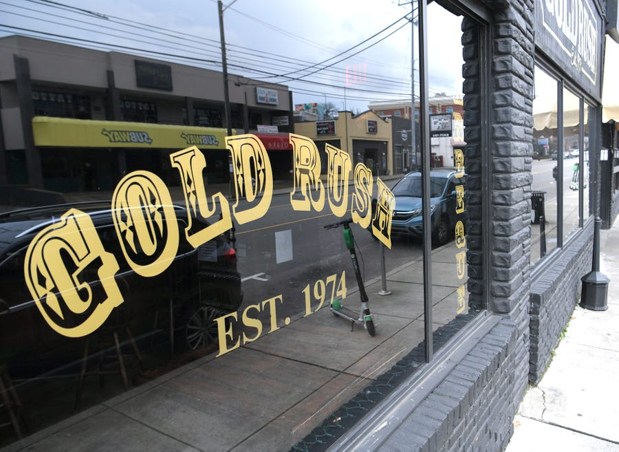 The Gold Rush in Nashville opened in 1974.