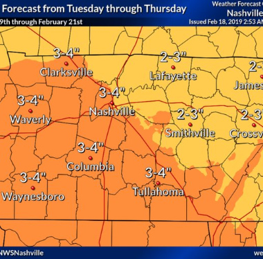 Middle Tennessee flooding: What to know about the anticipated rain in Nashville this week
