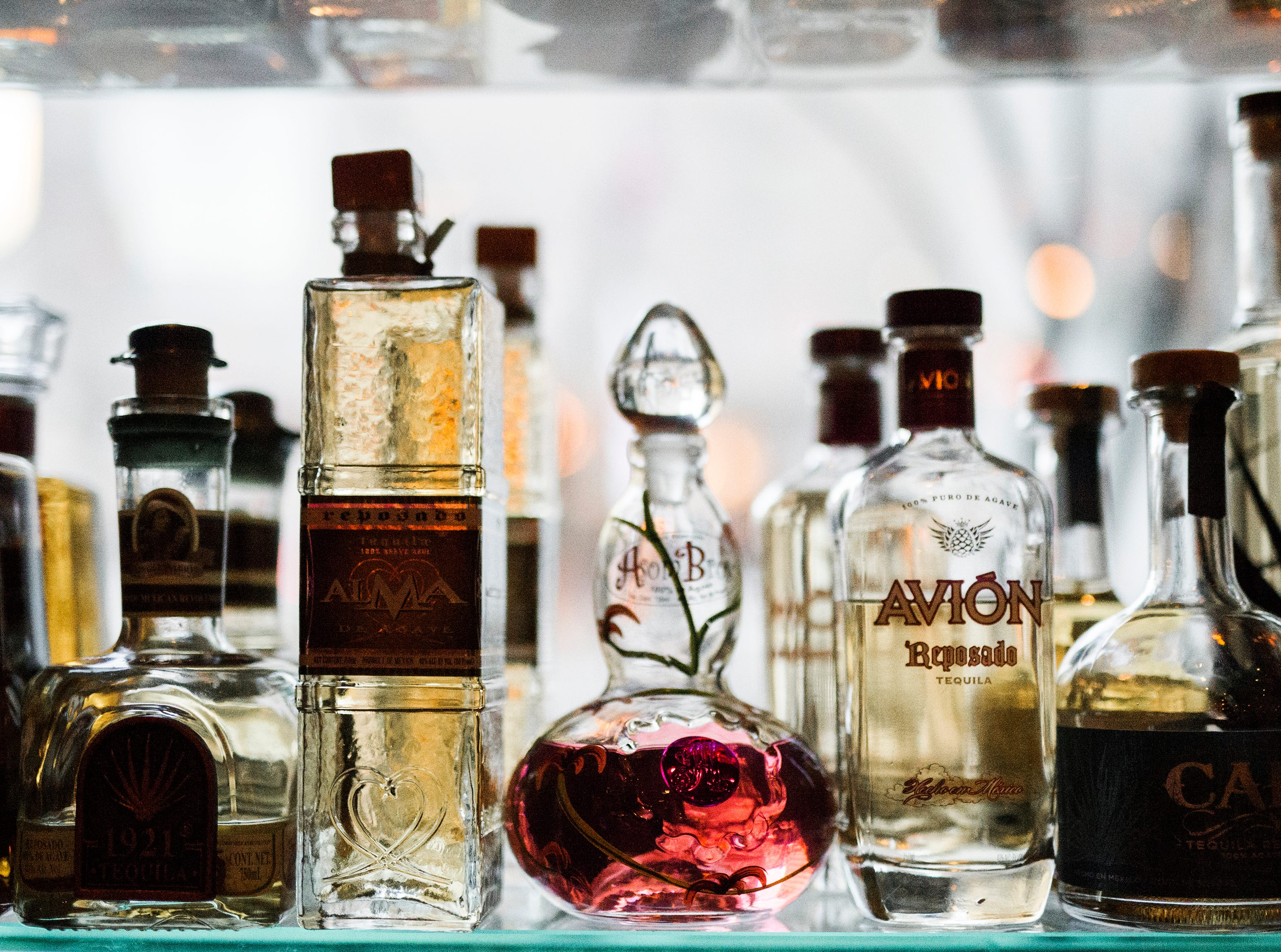 Rocco's Tacos & Tequila Bar will have more than 300 varieties of tequilas at its North Naples location, which opens Feb. 27, 2019, in Mercato.