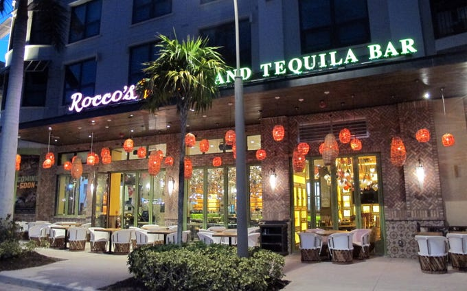 Rocco's Tacos & Tequila Bar is targeted to open Feb. 27, 2019, in the former space of Masa Mexican restaurant at Mercato in North Naples.