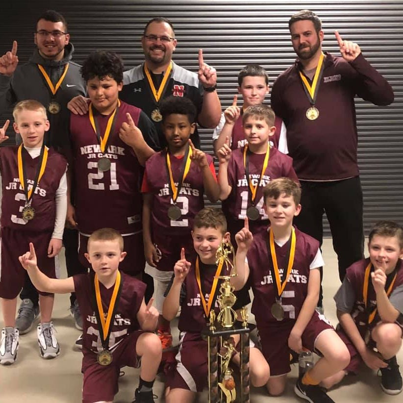 Newark Junior 'Cats third-graders win Central Ohio Basketball title