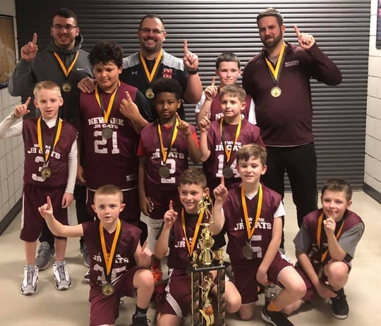 The Newark Junior 'Cats third-grade team won the COBA championship.