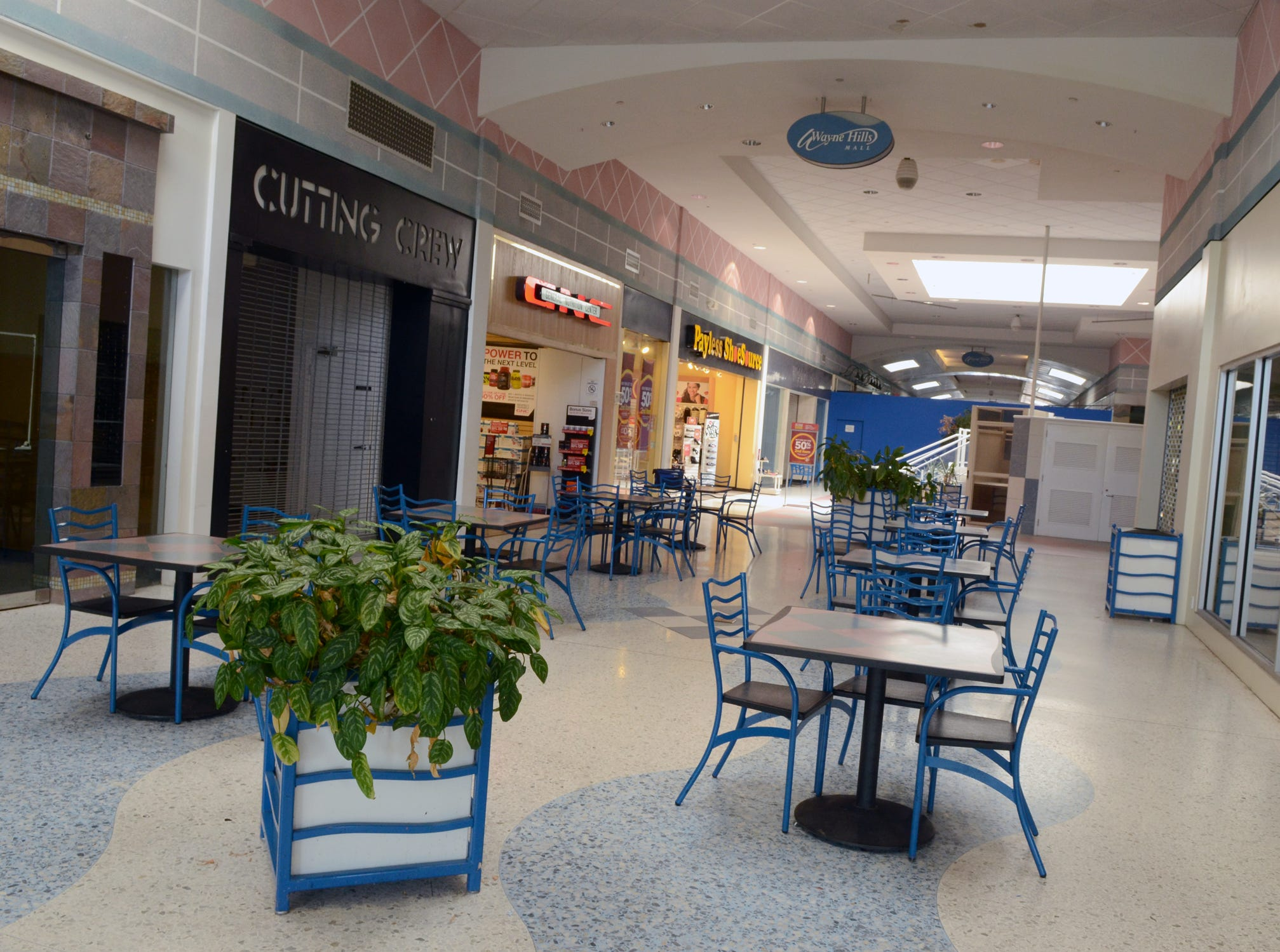 Wayne Hills Mall interior Sept. 24, 2013.