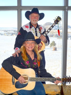 Bonnie Jo and Brad Exton are the Ramblin' Rangers. They will give a free concert at 6 p.m. on Wednesday, Feb. 20 at the Luna Rossa Winery.