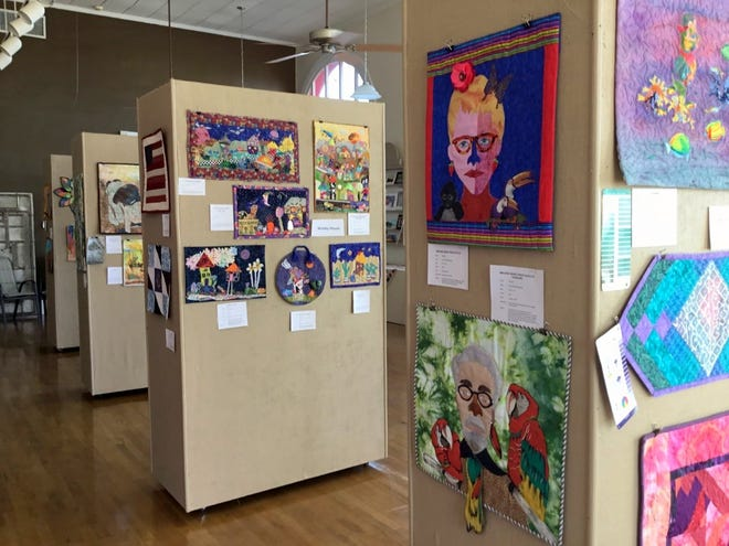 The Deming Arts Council is hosting aquilt show through February 27, 2019 at the Deming Art Center, 100 S. Gold St. The art was created by members of the Deming Quilting B. Traditional and many art quilts are featured on the floor of the DAC and hanging.Gallery hours are 10 a.m. to 4 p.m. onMonday through Friday. Visit the DAC website at www.demingarts.org or find them on Facebook.