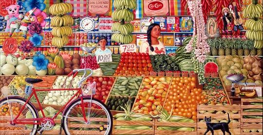 """Mercado Juarez"" by Hal Marcus"