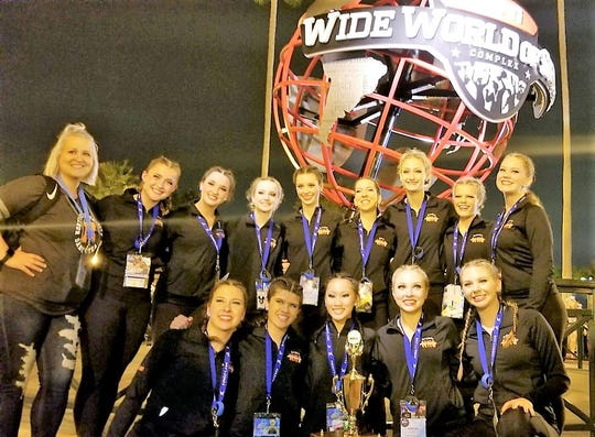 Northville High School's varsity dance team had its highest finish ever in the hip-hop category at the recent national competition in Orlando.
