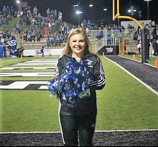 Northville High School dance team alum Amelia Sons now performs at Grand Valley State University.