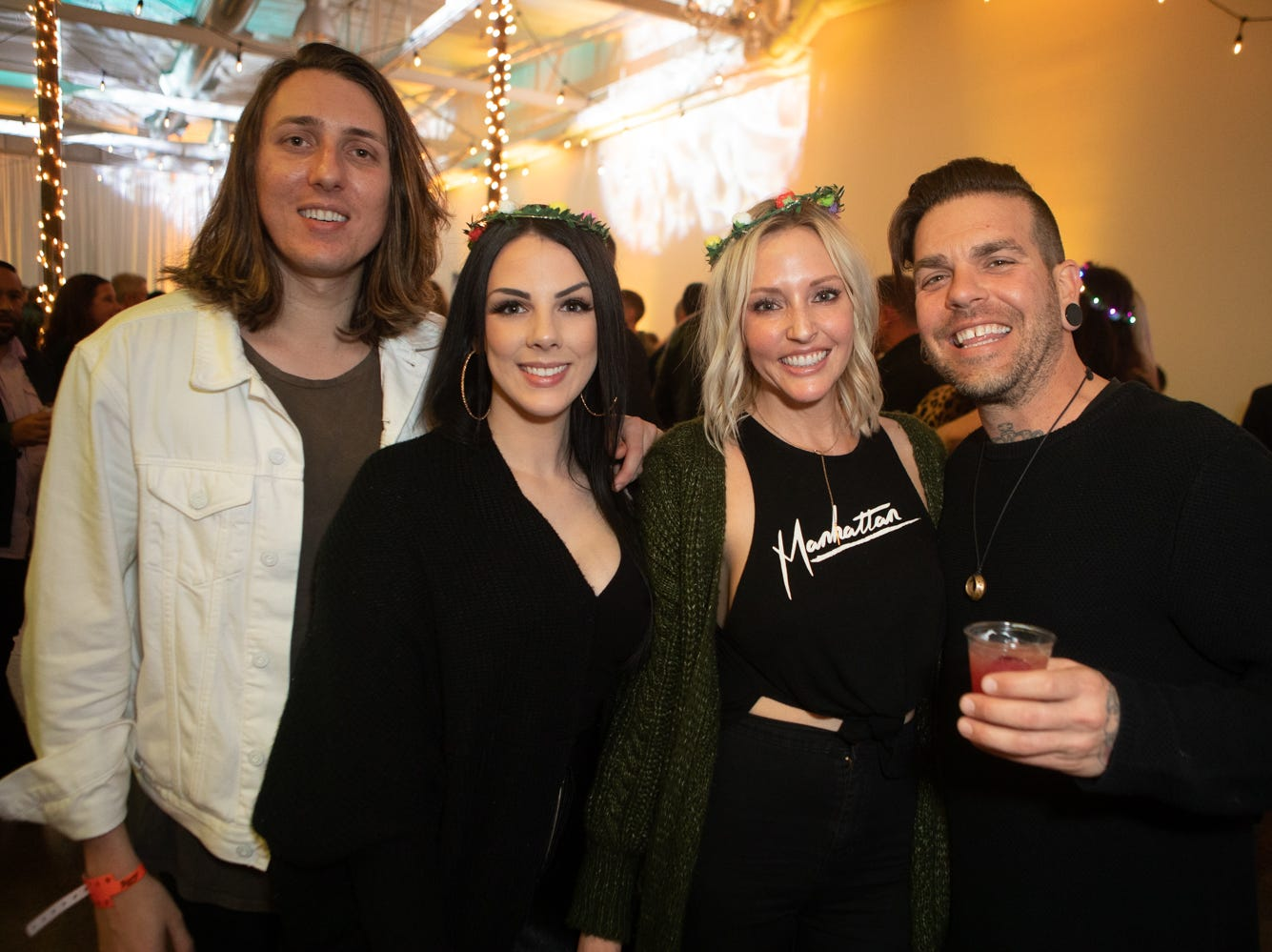 Drinks, good vibes and fun weren't hard to find at the Top Bars event at the Croft on Feb. 17, 2019, in Phoenix.