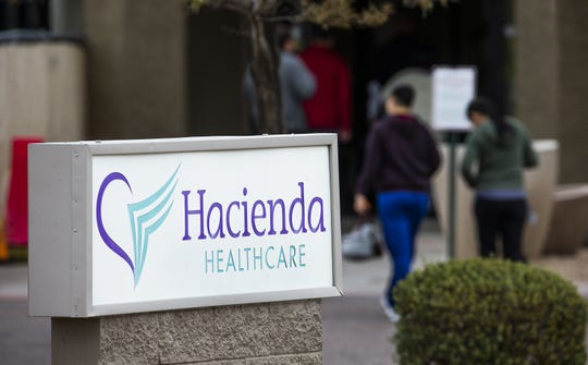 Family members of patients say Hacienda HealthCare gives residents socialization and activities, including music therapy,miniature horses, carnivals, Halloween trick-or-treating and a prom.